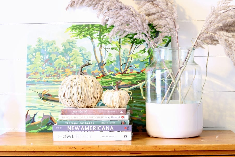 Welcome Home Sunday: DIY Raffia Pumpkins