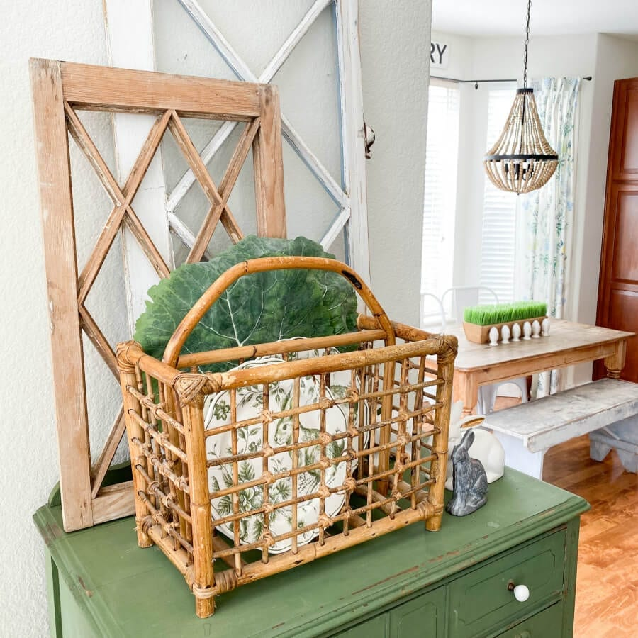 Welcome Home Sunday: Repurposed Vintage Magazine Rack Ideas