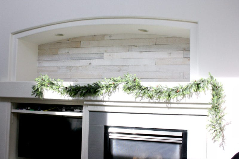 You won't belive what this Christmas mantel looks like now!