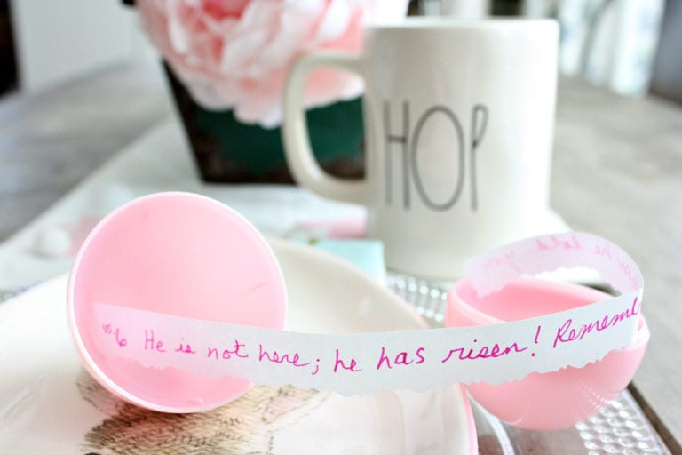 A Fun, Easy and Meaningful Easter Tradition-Scripture Eggs!
