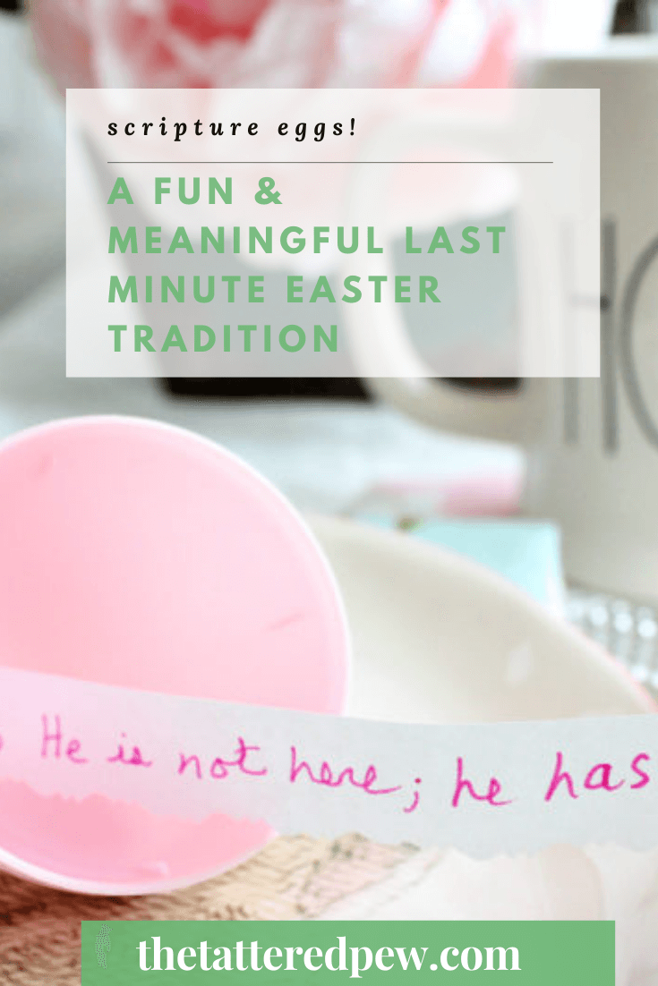 You will fall in love with this meaningful Easter tradition that you can start this year! It's so simple and fun too.
