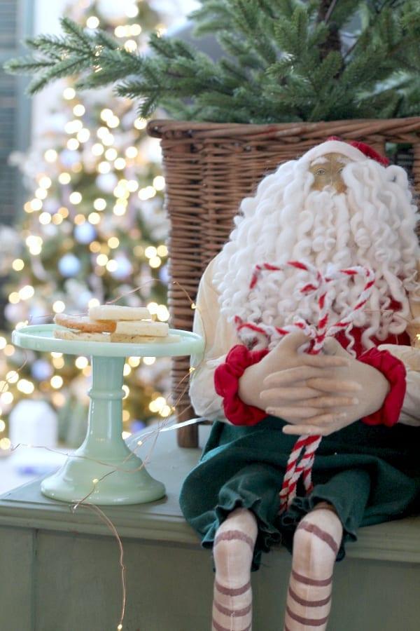 Shortbread cookie recipe perfect for Santa.