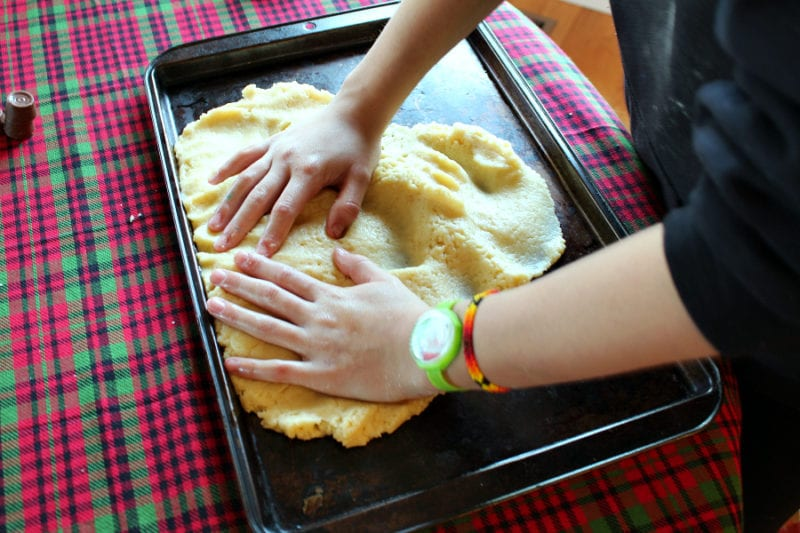 Scottich Shortbread cookies that even your kids can make!