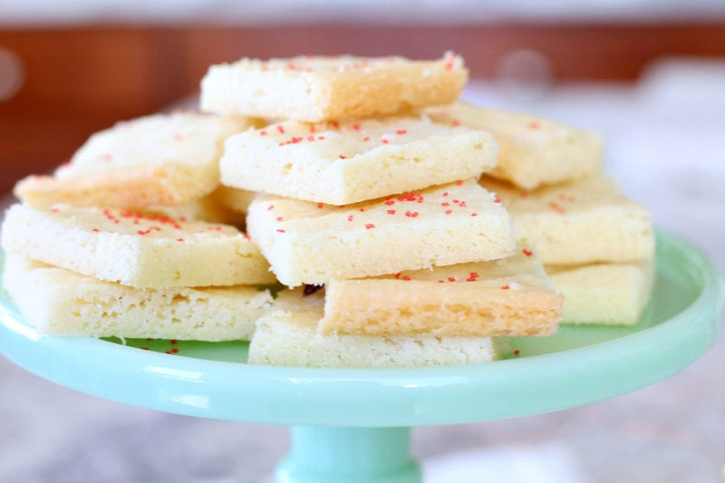 Scottish shortbread cookies that are delicious and easy to make!