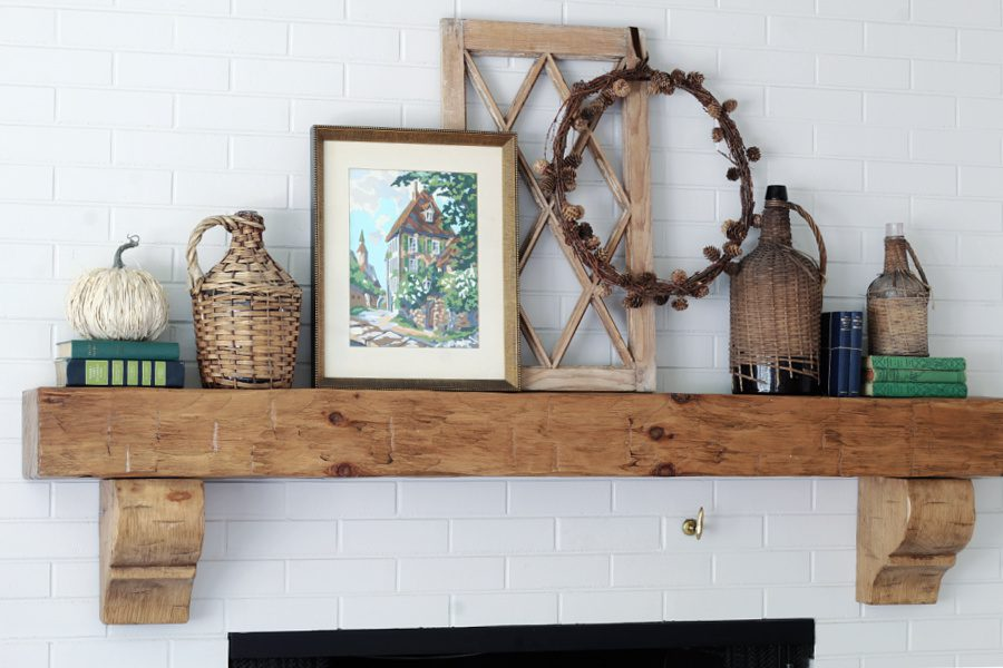 Fall Decor: Mantel decorating ideas that are simple and colorful