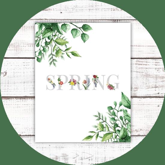 Floral Spring printable
