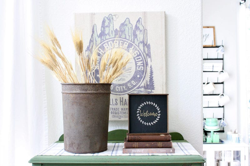 Transitioning your summer to fall decor can be very easy with these 3 simple tricks.
