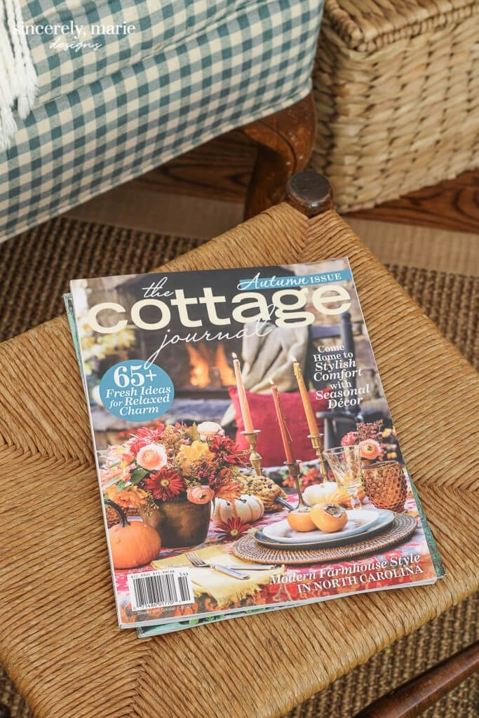 Welcome Home Sunday: Cottage Journal feature