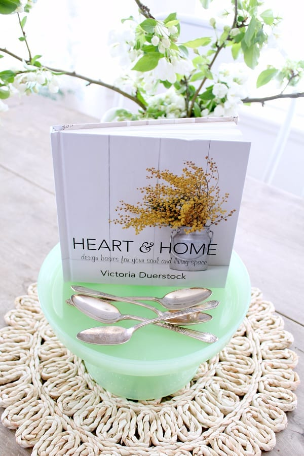 Heart & Home: a devotional book combining faith and home decor tips!