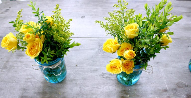 5 Simple Flower Centerpieces for Mother's Day