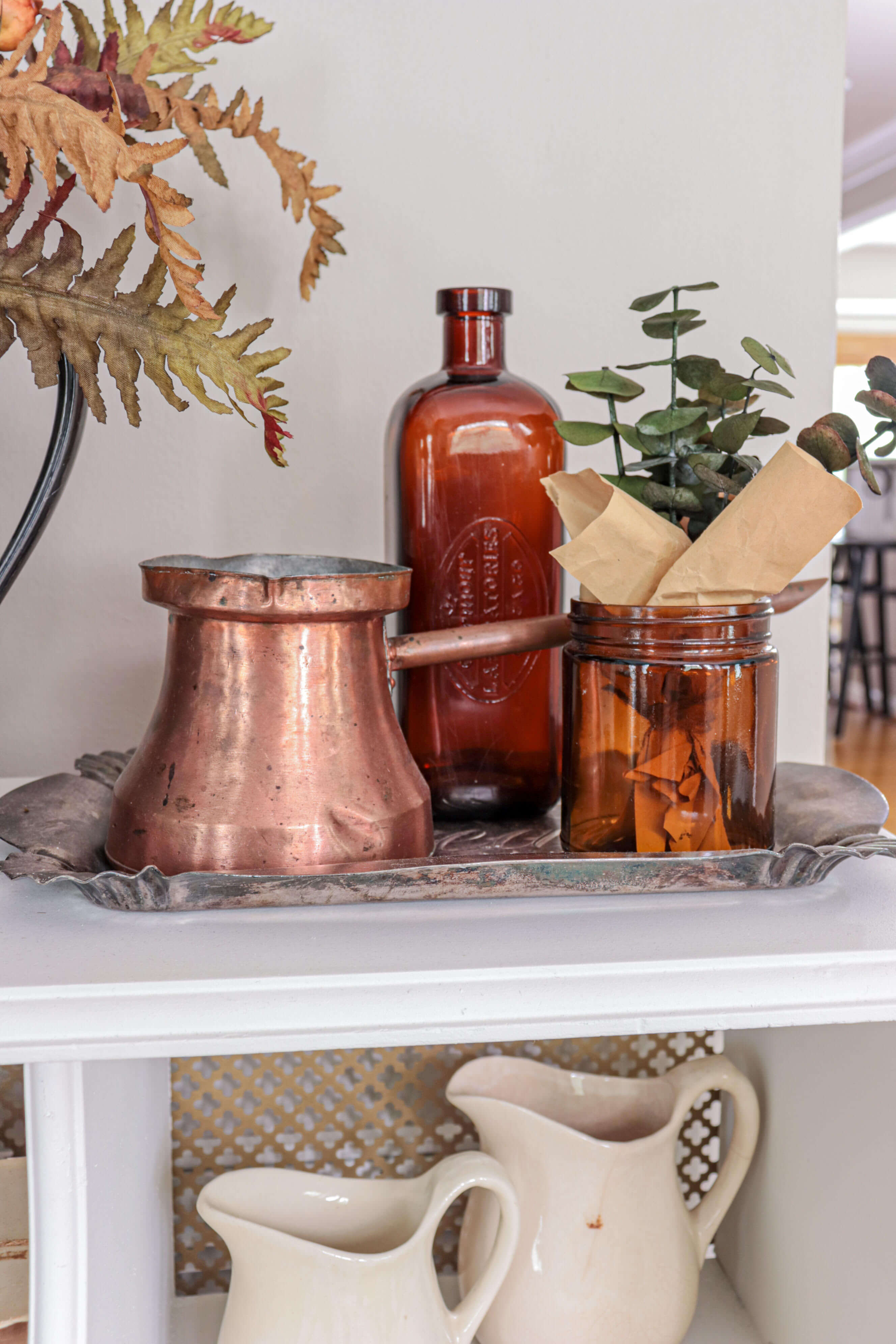Welcome Home Saturday: Celebrating fall in our entryway