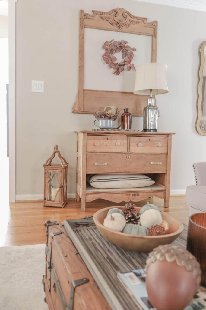 Welcome Home Saturday: Amber and Gray Fall Home Tour