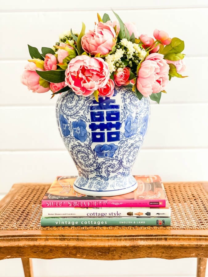3 Ways to Style a Faux Flower Arrangement