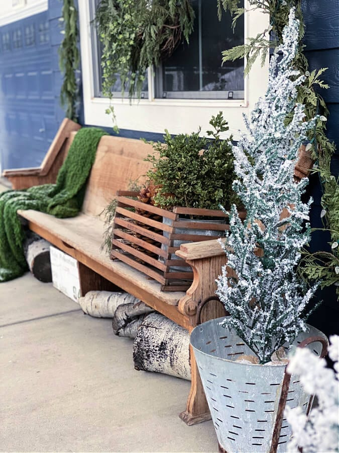 Welcome Home Sunday: Winter Porch Ideas