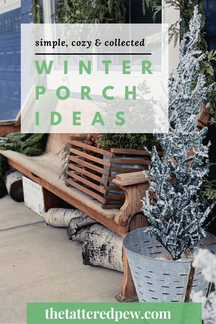Check out these winter porch ideas that are simple and fun!