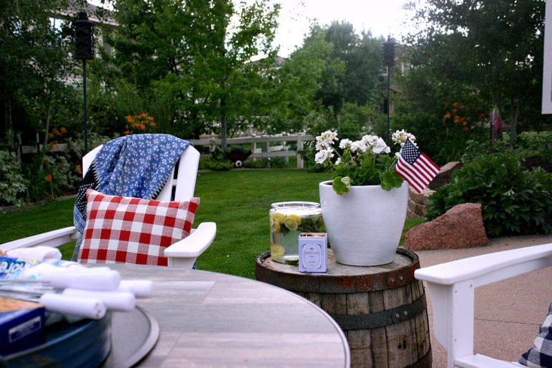 A Summer patio in style!